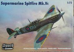 Sword Supermarine Spitfire Mk. Vc 1:72 Scale Model