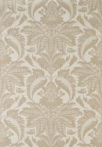 Lewis & Wood VENETIAN DAMASK This design was developed from a piece of antique French gauffrage velvet and turned into a classic wallpaper in seven chalky colorways. The colouring was then reversed to produce a fresh linen print, particularly useful for bedrooms. @JLambethCo & www.jlambeth.com