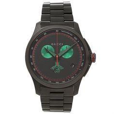 422e2dc1a8e Gucci YA126270 Mens G TIMELESS Black Quartz Watch