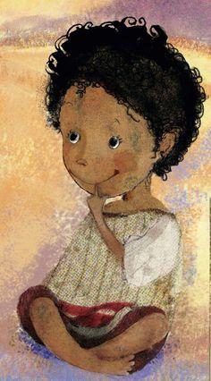 Die junge Kinderbuchillustratorin, Cancu, hat uns dieses tolle Bild einer kleinen Wüstenblume zugeschickt!  Wir finden es toll!  Was sagt ihr dazu, teilt eure Meinung mit uns in den Kommentaren!