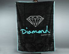 So me and girl can be wrapped in diamonds. lol! Diamond Supply Co. Diamond OG Blanket - Caliroots.com