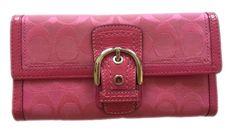 **Sold** Coach Soho Signature Wallet Pink | eBay