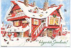 by Mauri Kunnas Christmas Books, Christmas Cards, Xmas, Scandinavian Christmas, Various Artists, Christmas Traditions, Elves, Gnomes, Finland