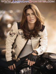 Jillian Michaels woman motorcycle