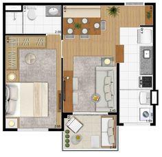 Pinterest: @claudiagabg | Apartamento de solteria