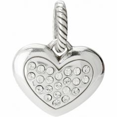 ABC Amore Heart Charm  available at #Brighton
