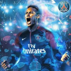 I like the colors and the backround also the details in the design Soccer Stars, Soccer Boys, Football Soccer, Good Soccer Players, Football Players, Neymar Jr Wallpapers, Paris Saint Germain Fc, Football Images, Messi And Ronaldo