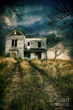 abandoned home- Sandra Cunningham