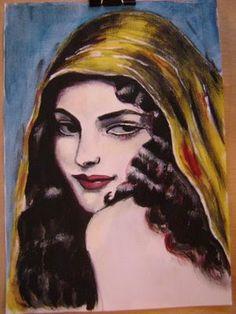 Pinturas e debuxos: Xitana .