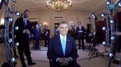 obama portrait 3D led