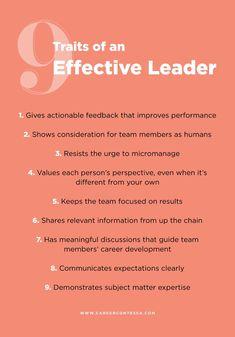 Traits of an effective leader Leadership tips Leadership Activities, Leadership Coaching, Educational Leadership, Leadership Development, Quality Of Leadership, Business Leadership Quotes, Good Leadership Qualities, Effective Leadership Skills, Importance Of Leadership