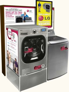 LG Electronics In-Store POP and Best Buy Endcap