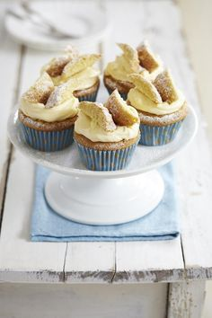 Lemon Curd Butterfly Buns (From Daily Echo)