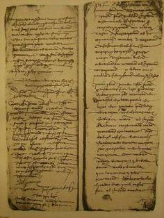 Tutto storia, storia moderna: L'origine di Cristoforo Colombo: i documenti ufficiali