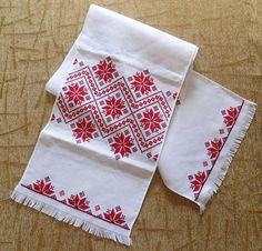 Bordadas toallas de boda Rushnyk de Ucrania occidental d306