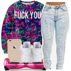 Untitled #400 by oh-thatasia on Polyvore featuring NIKE
