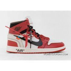 09c6de72372289 Off-White X Air Jordan 1 Chicago White Black Varsity Red Copuon