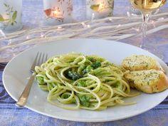 Light Lemon Pepper Asparagus Linguini