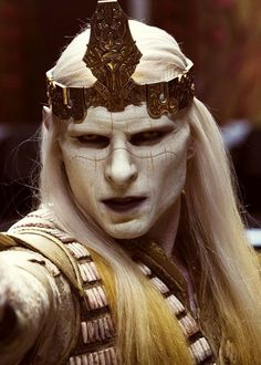 PRINCE NUADA in HELLBOY II, THE GOLDEN ARMY...so mean, and yet, so handsome!