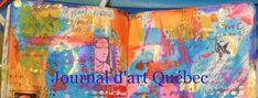Journal d'art Québec: Appel de créations septembre 2020 Liquid Watercolor, Watercolor Journal, Journal D'art, Paper Collage Art, Zentangle Drawings, Land Art, Illustrations, Creations, Deco