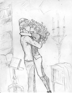 Draco and Hermione. Fanart Harry Potter, Harry Potter Ships, Harry Potter Love, Harry Potter World, Draco Und Hermione, Draco Malfoy, Dramione Headcanons, Rose And Scorpius, Clary Y Jace