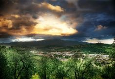 The hills of Tuscany  - BeersandBeans.com