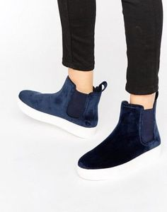 Monki Clean Ankle Boot