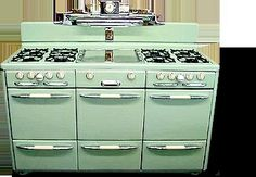 vintage  stoves | Antique Stoves and Ovens - Vintage Kitchen Decor - Country Living  ALL I WANT IN LIFE!