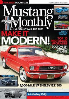 Mustang Monthly - July 2013 - Download PDF Magazines free