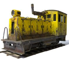On30 diesel critter made from Bachmann HO 70-ton diesel by John S. Hopkins of Eugene, Oregon.