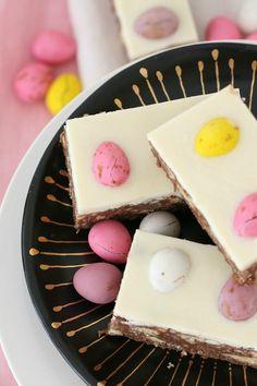 Chocolate Hedgehog Easter Slice image
