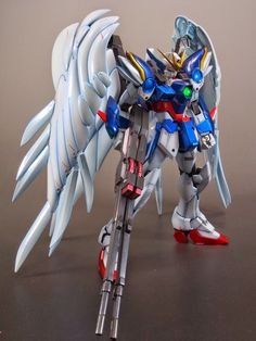 MG 1/100 Wing Gundam Zero Custom Painted Build - Gundam Kits Collection News and Reviews
