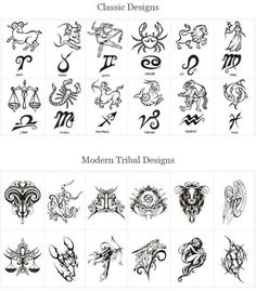 Download Free diseños para tatuajes del zodiaco   Taringa! Tattoo to use and take to your artist.