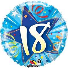 "Shining Blue 18 18"""