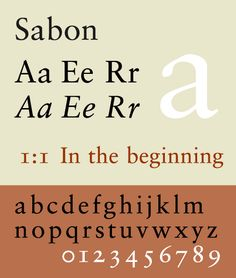 Discover the beauty of fonts!