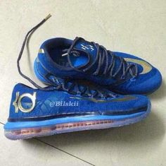 Nike KD VI Elite Blue Gold First Look