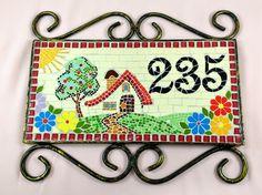 Owl Mosaic, Easy Mosaic, Mosaic Garden Art, Mosaic Wall Art, Glass Wall Art, Mosaic Glass, Mosaic Designs, Mosaic Patterns, Mosaic Furniture