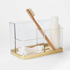 Accent Vanity Organizer - Project 62™ : Target Eyelash Curlers, Plastic Organizer, Bath Organizer, Vanity Organization, Jewelry Organization, Make Up Organiser, Transparent Design, Room Ideas Bedroom, Bedroom Furniture