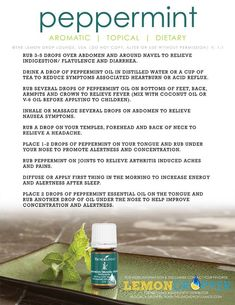 Wake up! If you can't try peppermint essential oil from Young Living