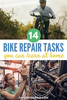 Cyclists, learn how to give your bike some love with these common bike repair and maintenance tasks you can learn at home. Here's a guided checklist with instructional videos and tips to help you get your hands dirty and bond with your bike. #cycling #mtb #bikes