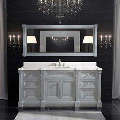 Studio Bathe – Avenue 72 in. Oxford Grey Single Vanity with Mirror