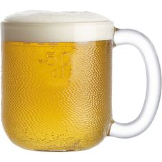 Iittala Krouvi 20 oz. Beer Mug in Beer Glasses | Crate and Barrel