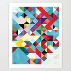 This Time 01. Art Print by Three Of The Possessed - $17.68