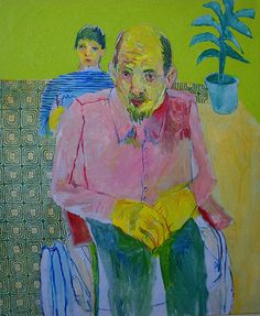 Pushing The Wheelchair - Meirion Alan Ginsberg