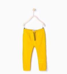 ZARA - BAMBINI - Pantaloni felpa cordoncini