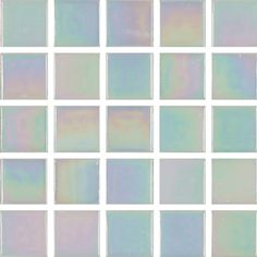 Mosaic Sweden A0005 Glasmosaik Vit Pärlemor A0005 | Drytrend.com
