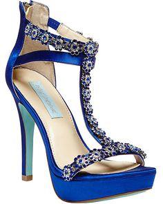 SB-ADORE ROYAL BLUE women's dress high ankle strap