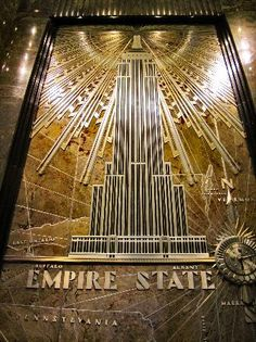 Deco Detail, Empire State Building Lobby