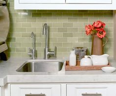 More of that gorgeous tile backsplash by Heath Ceramics!