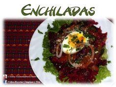 Receta de Enchiladas Guatemaltecas - YouTube